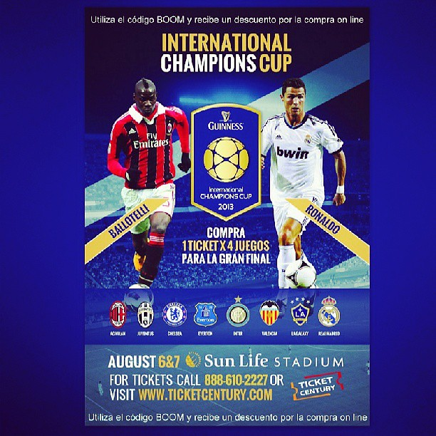 International Champions Cup: Get Guiness International Champions Cup Discount Tickets U