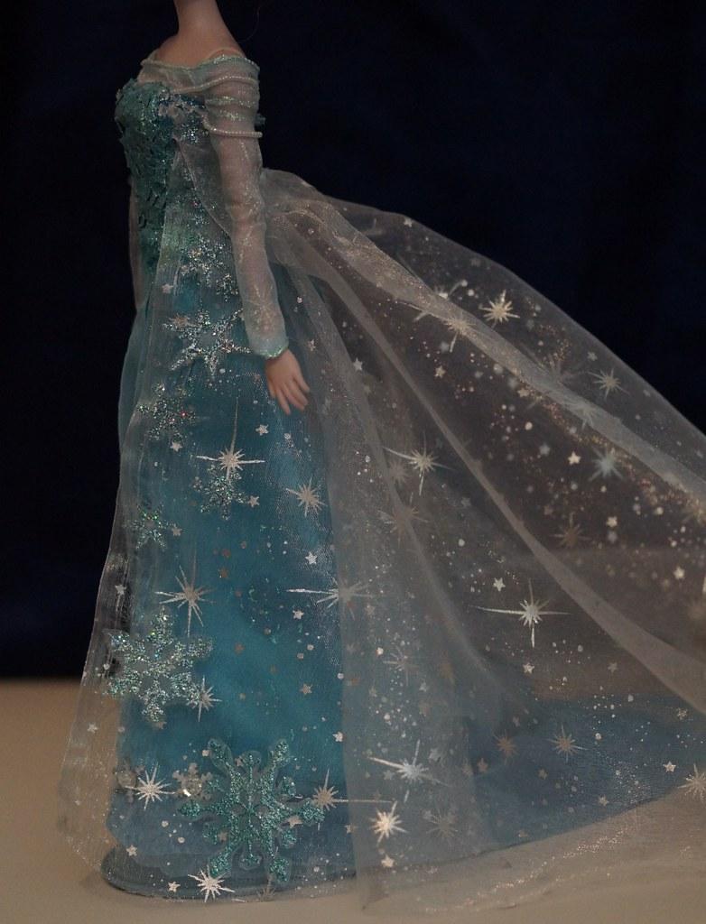 Ooak Elsa Snow Queen Gown Disney Frozen It 180 S Done