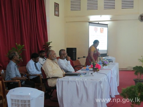 Kilinochchi District Coordinating Committee Meeting held - 22 April 2014