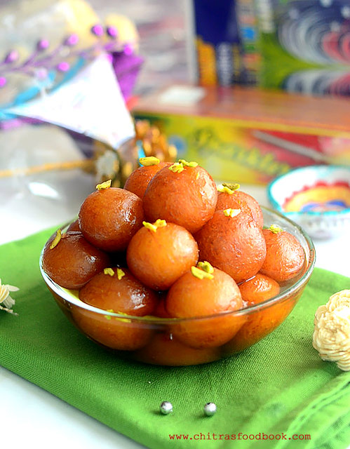 Gulab jamun recipe with mtr mix