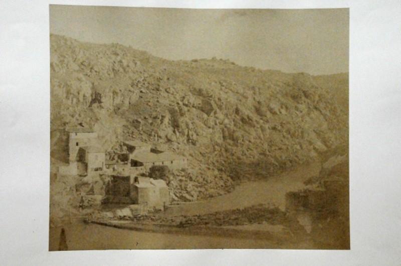 Torno del Tajo en Toledo en 1852. Fotografía de Felix Alexander Oppenheim © Museum für Islamische Kunst, Staatliche Museen zu Berlin