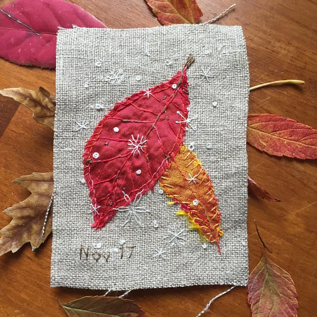 Daily Stitching - Nov.17.2016