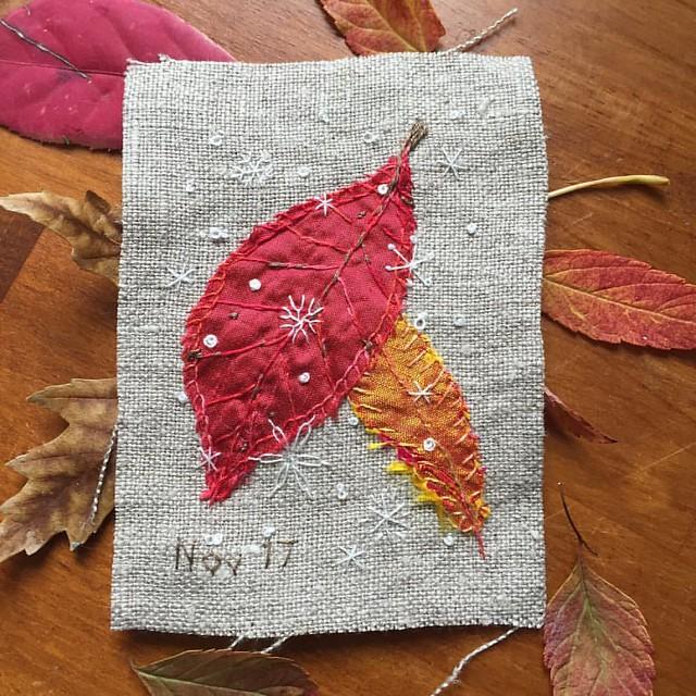 Daily Stitching - Nov.17.2016