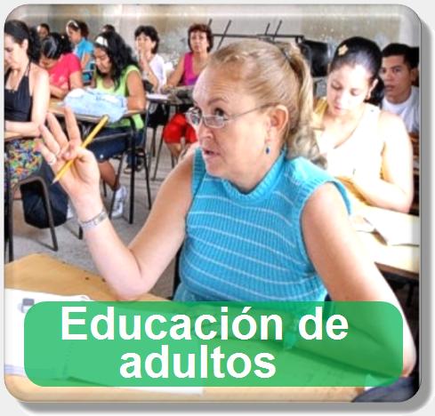icono educacion de adultos
