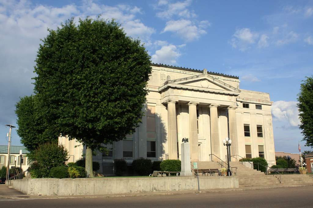 Carroll County Courthouse West Oblique View Huntingdon