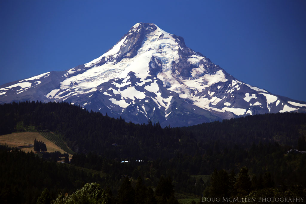 Mount Hood Over The Hood River Valley Hood River Or