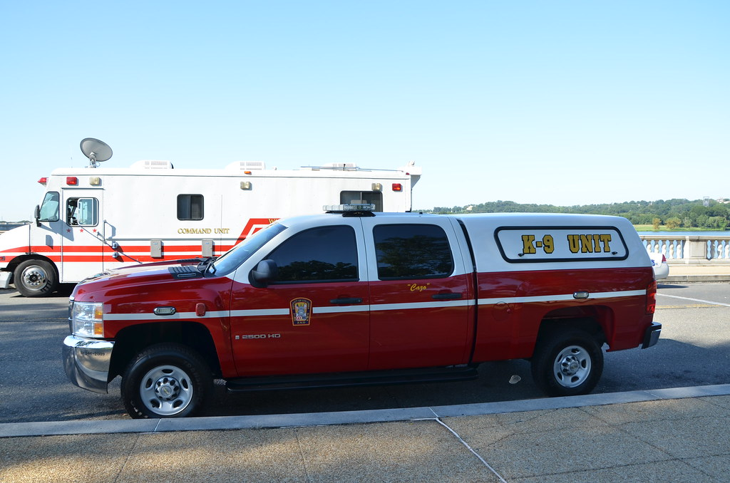 DC Fire EMS speical operations K9 Unit | DCFD Fire EMS ...