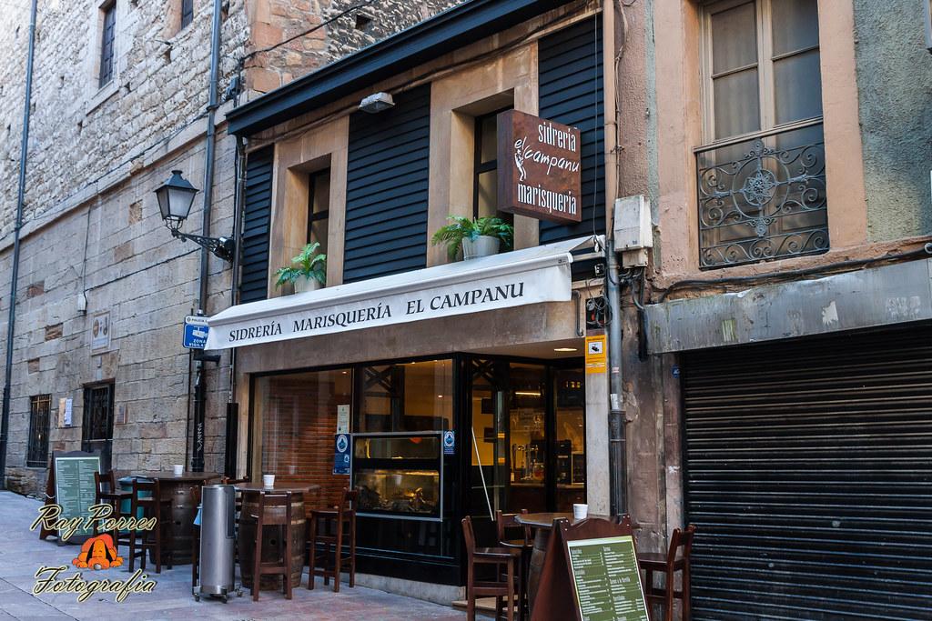 Sidreria marisqueria el campanu en la calle jesus de ovied - Marisquerias en asturias ...