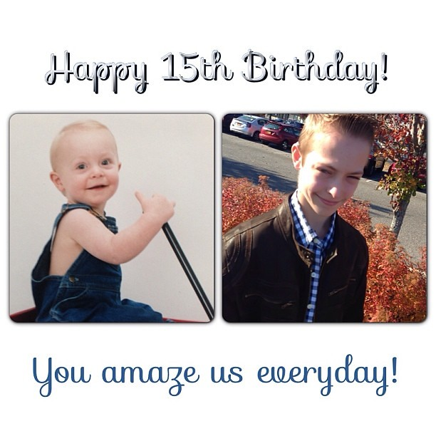 Happy 15th Birthday To My Son Alex! Love You!!!! #proudmom