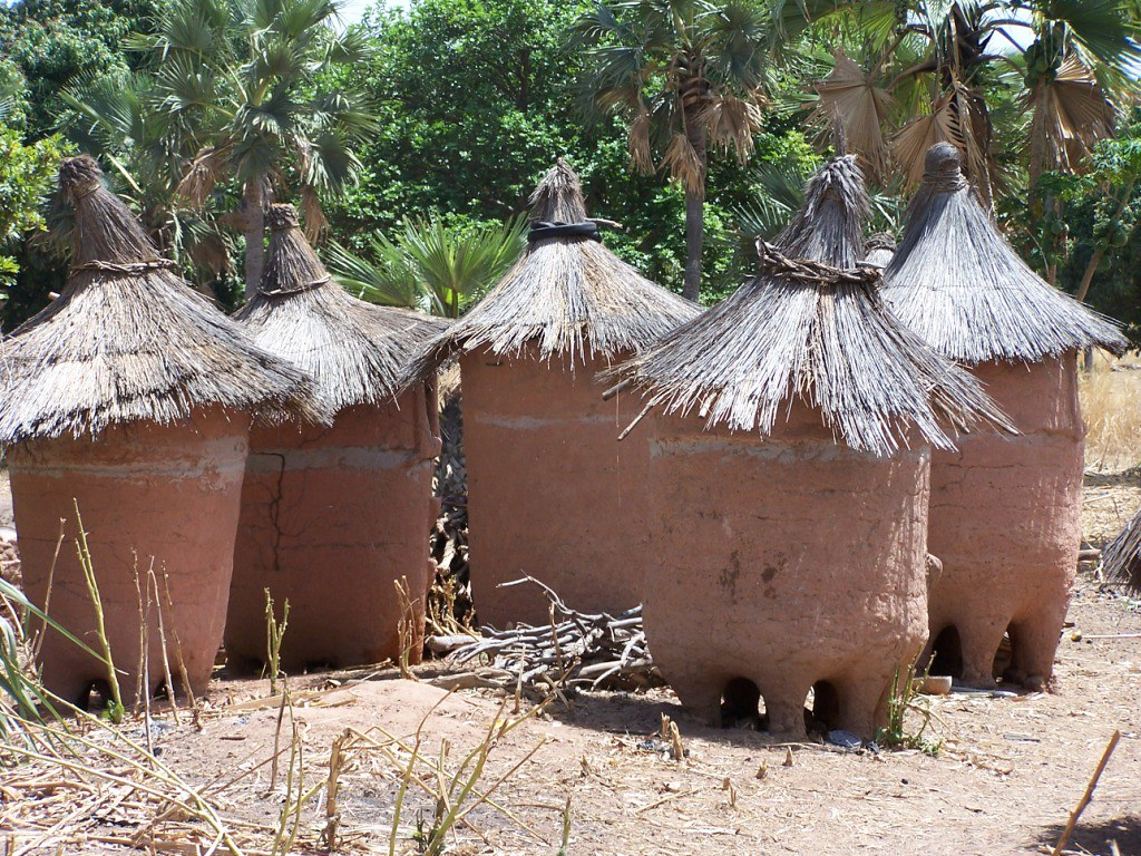 Traditional Storage Structure For Maize And Groundnut