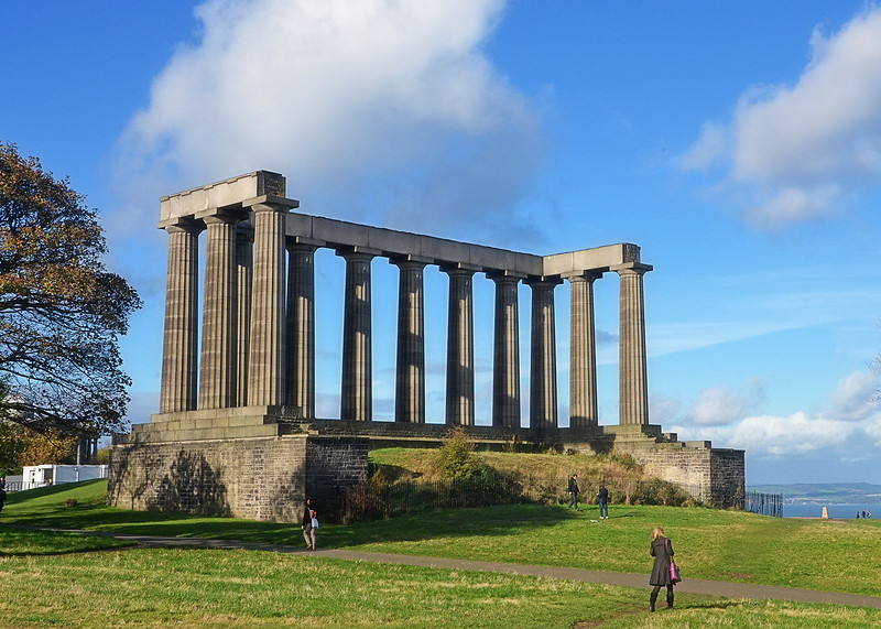 Calton Hill, the National Monument