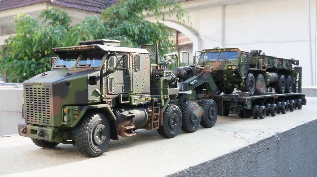 1:50 Oshkosh HET M1070 with M1000 Trailer + Oshkosh HEMTT ...
