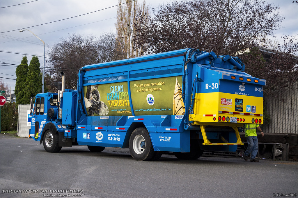 Sanitary Service Bellingham : Ccc let g s products series recycling truck flickr