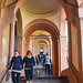 End in sight, Portico to San Luca, Bologna