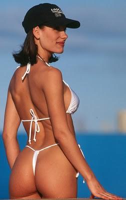 Bikini Model White