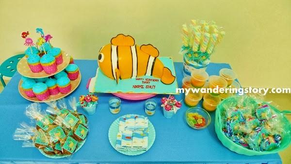 Nemo Fondant Cake Toppers