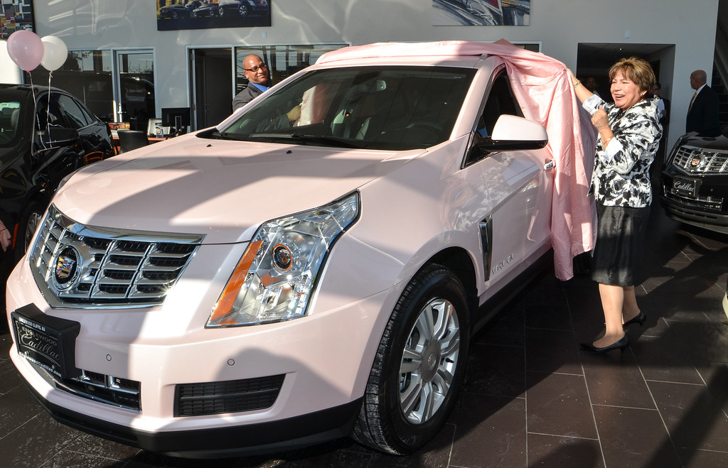 mary kay cosmetic winner picks up 2014 srx at englewood cl flickr. Cars Review. Best American Auto & Cars Review