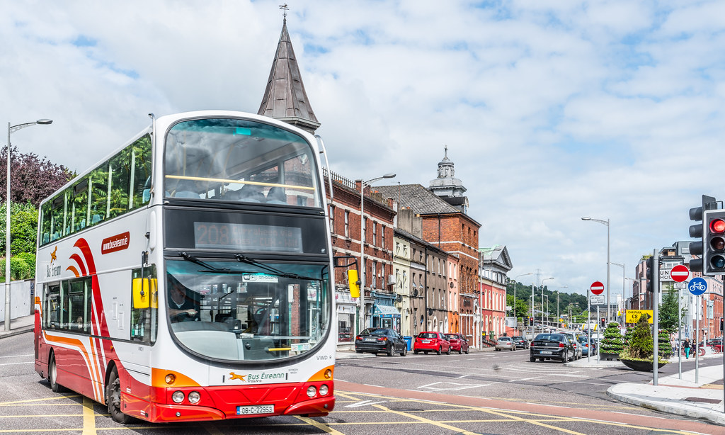 THIS VISIT TO CORK I DEPENDED ON THE BUS SERVICE [THE 208 BUS WAS ESPECIALLY USEFUL]-122293