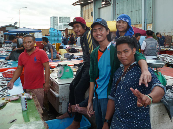 bad boys in the fish market