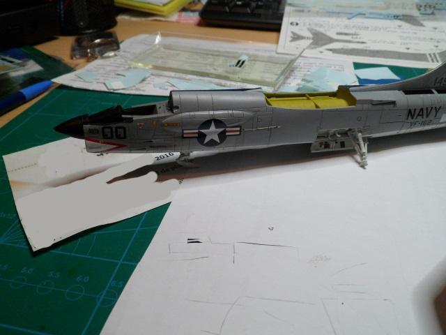 Pas-à-pas : Vought F-8E Crusader [Academy 1/72] - Page 2 31381765776_afbbf161e9_o