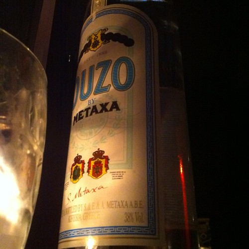 A Taste Of Greece #ouzo #greek #alcohol #drink #drunk