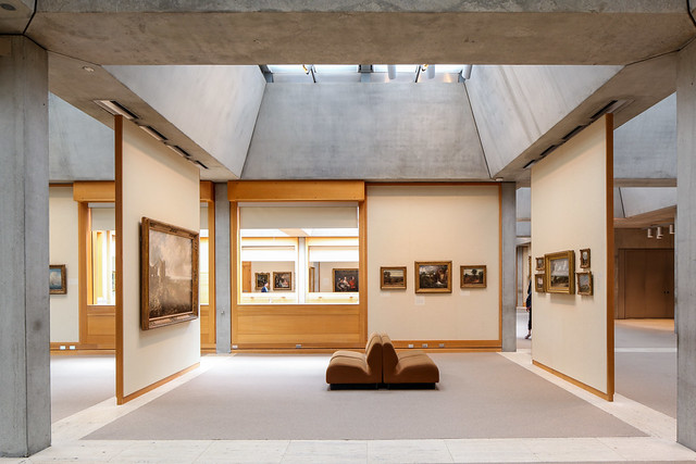 Yale Center For British Art Louis Kahn Flickr Photo