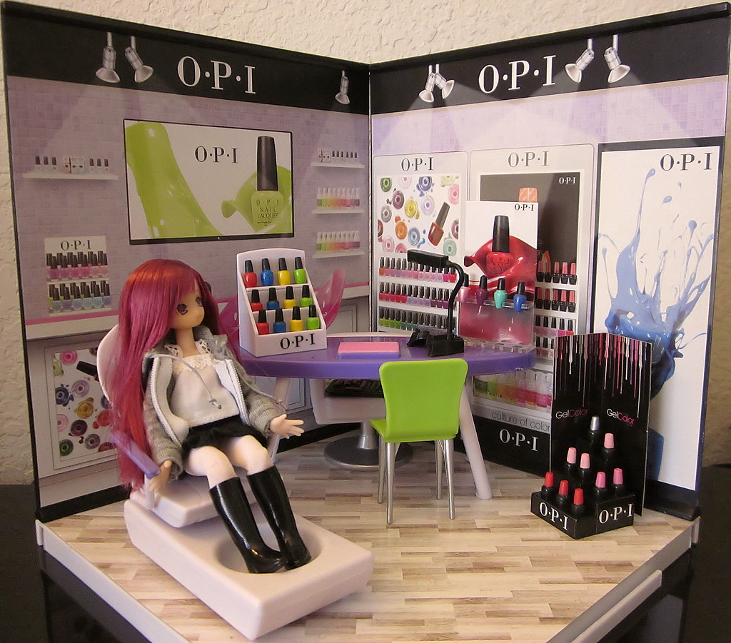 Picco neemo in miworld opi shop another requested for R b salon coimbatore