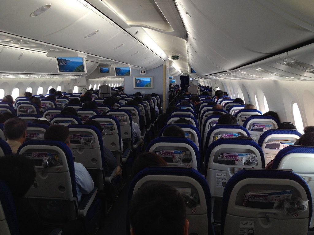 Boeing 787 800 Interior Ja818a This Was My First Flight