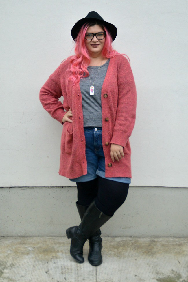 Plus size hipster outfit (7)