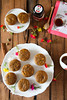 Thumbnail image for Eggless Wholewheat Fruit and Nut Cupcakes With Honey Icing
