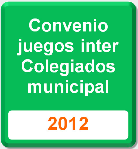 convenio intercolegiadosmunicipal 2012