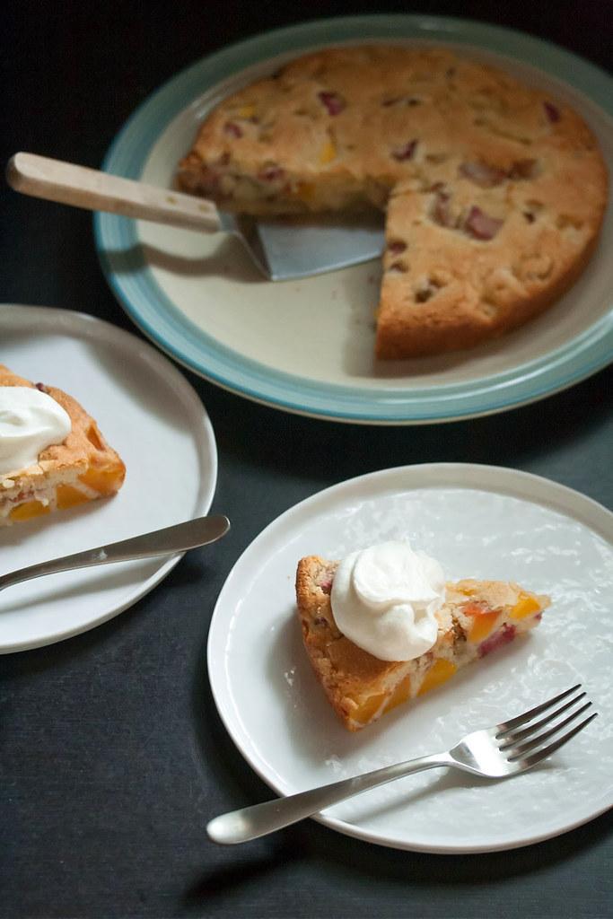 Easy Rhubarb Cake Yellow Cake Mix