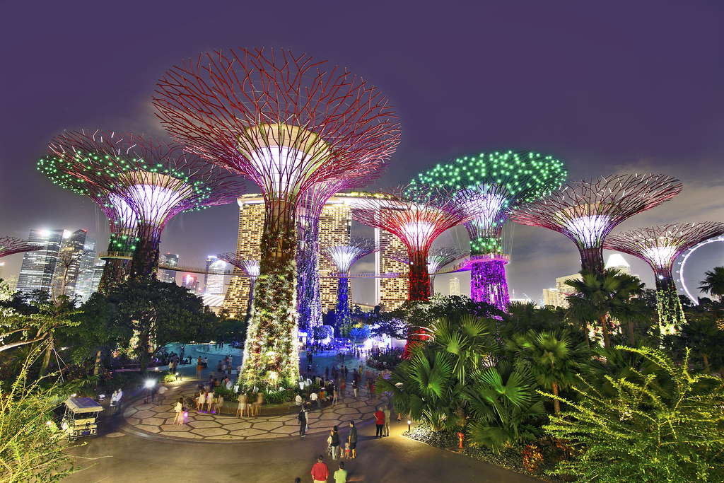 Gardens by the bay gardens by the bay kenny teo flickr - Garden by the bay flower show ...