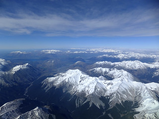 Snow melting on Southern Alps | by imajane