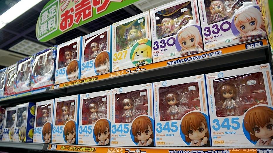 Akihabara Shops 12 | Nendoroid Mikoto Misaka by Goodsmile. V ...