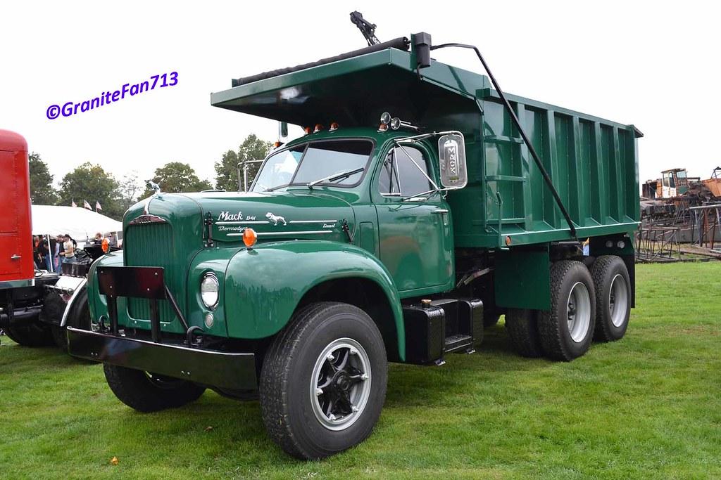 B 61 Mack Trucks : Mack b dump truck trucks buses trains by