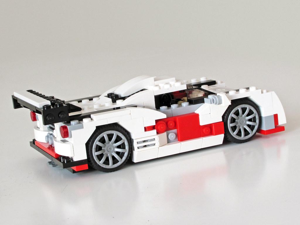 31006 le mans racer alternative of lego creator set. Black Bedroom Furniture Sets. Home Design Ideas