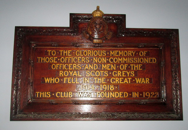 Royal Scots Greys Memorial, Edinburgh Castle