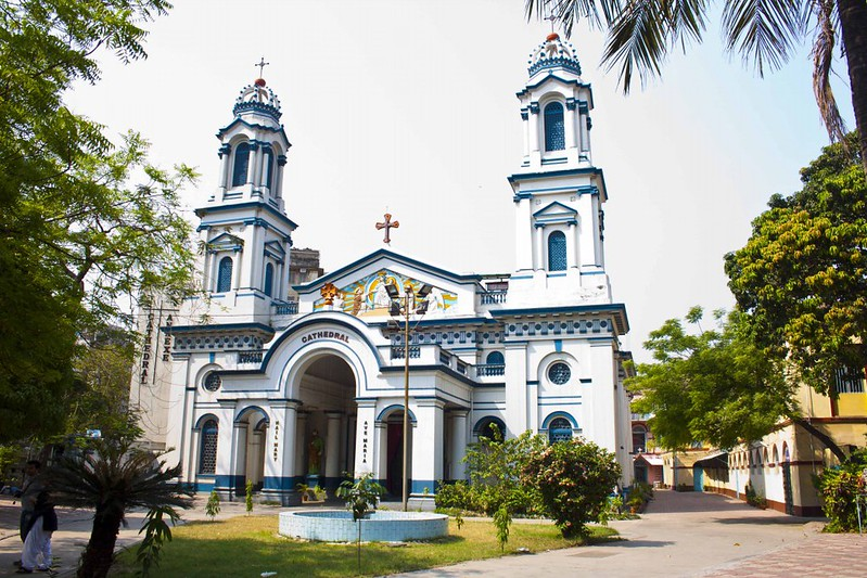 Cathedral Of The Most Holy Rosary - Portuguese Church Kolkata, India