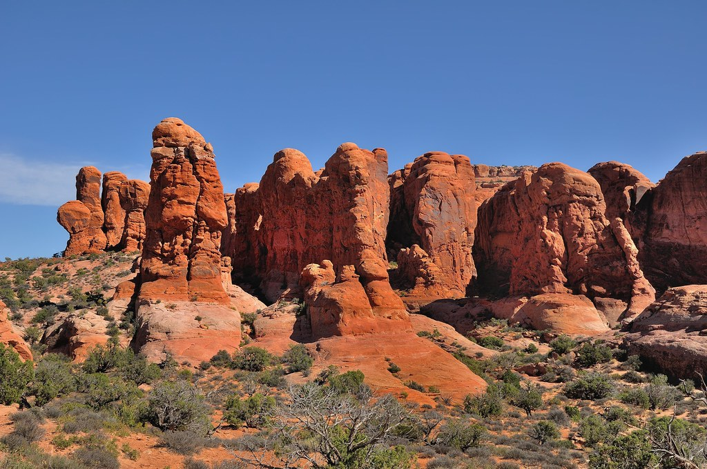 The Garden Of Eden Arches National Park Here I Added A S Flickr
