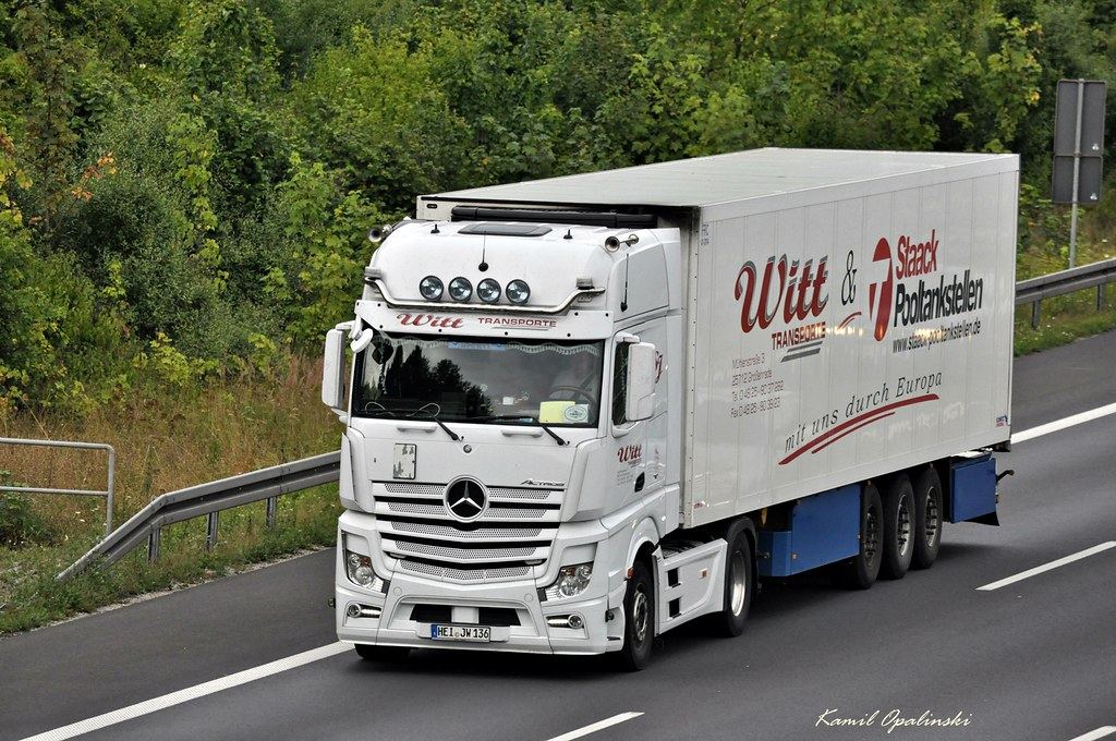 D  MB ACTROS MP4 GIGASPACE  WITT TRANSPORTE  Kamil