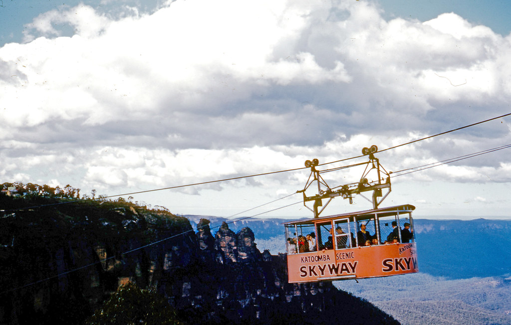 Katoomba Scenic Skyway 1963 Notes The Cable Way And