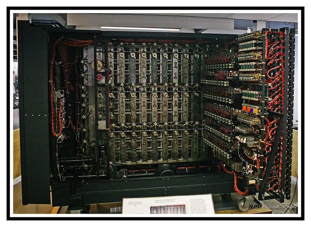 an important piece of history - bombe machine