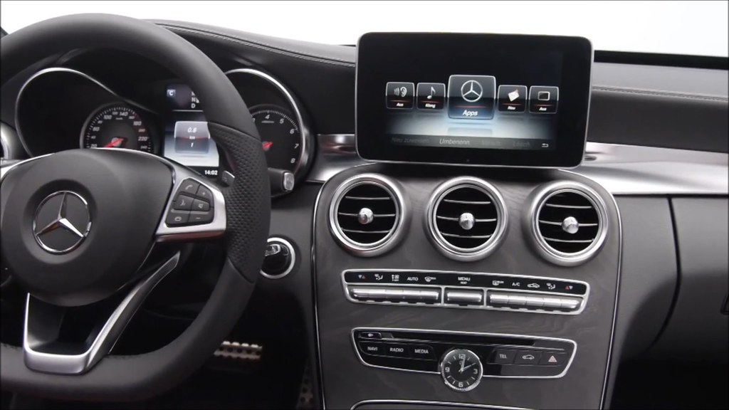 mercedes benz 2015 c class interior youtube video flickr. Black Bedroom Furniture Sets. Home Design Ideas