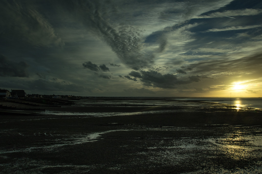 Whitstable at sunset