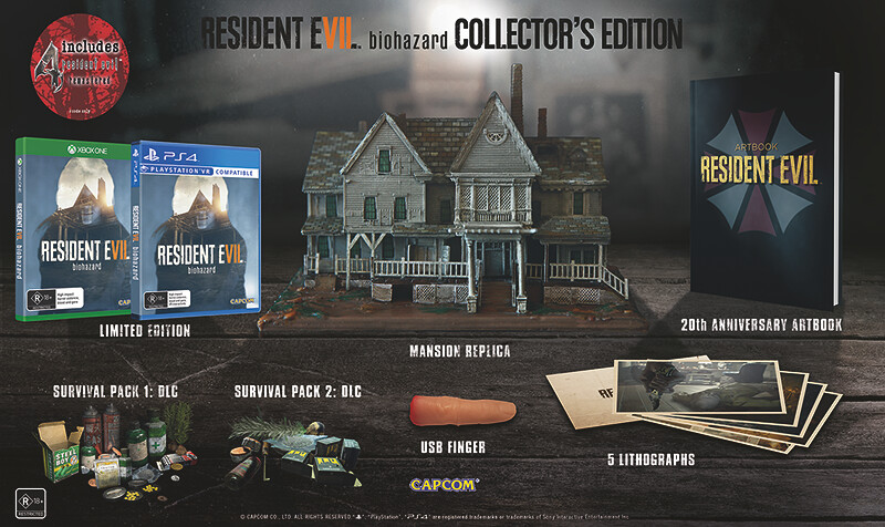 Resident Evill VII Biohazard Collectors Edition