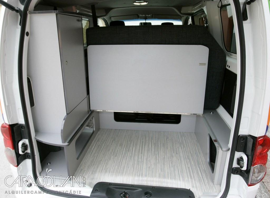 nv200 camper int maletero 2 a l nissan nv200 camper. Black Bedroom Furniture Sets. Home Design Ideas