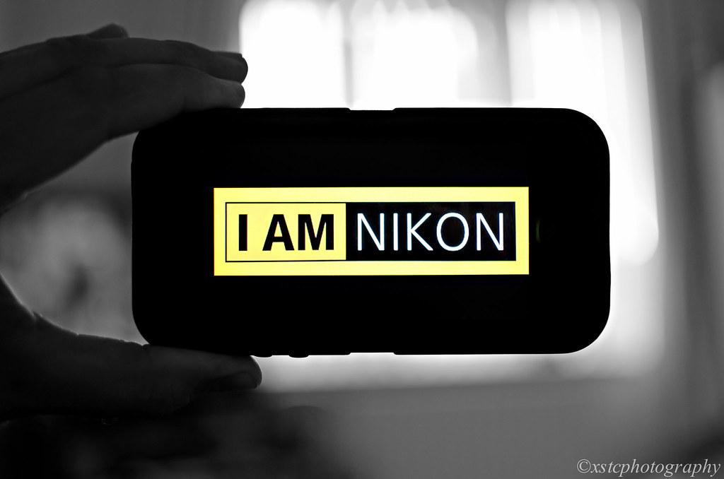 I am nikon logo psd