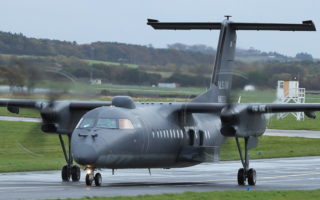 N8300g Us Army Dhc 8 315 Dash 8 Quot Grizzly 67 Quot Glasgow Prest