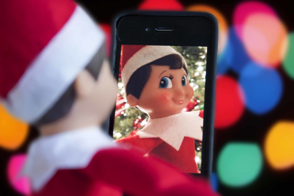 Elf on the shelf selfie even elves take selfies flickr - Christmas elf on the shelf wallpaper ...